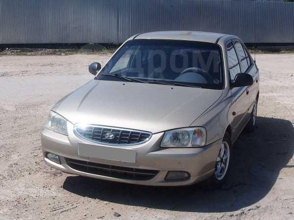 Hyundai Accent, 2004 год, 214 000 руб.