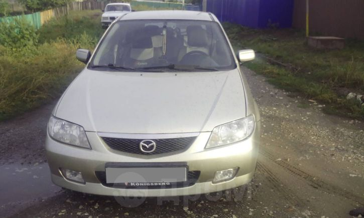Mazda 323F, 2002 год, 210 000 руб.