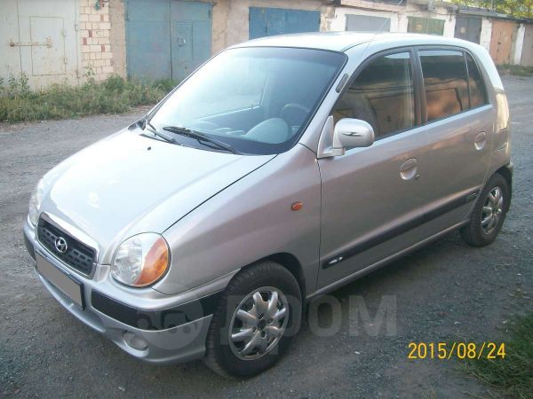 Hyundai Atos, 2002 год, 205 000 руб.