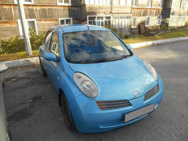 Nissan March, 2002 год, 155 000 руб.