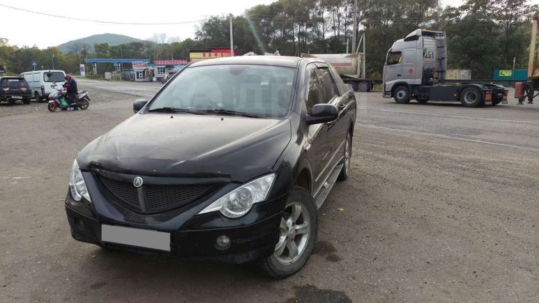 SsangYong Actyon Sports, 2009 год, 300 000 руб.
