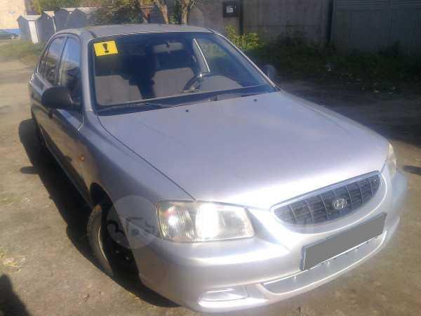 Hyundai Accent, 2004 год, 230 000 руб.