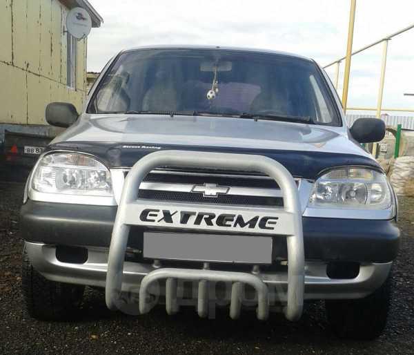 Chevrolet Niva, 2002 год, 160 000 руб.