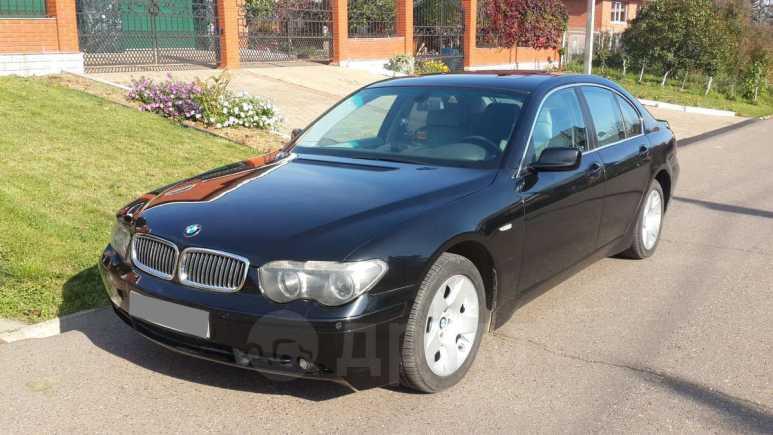 BMW 7-Series, 2002 год, 435 000 руб.