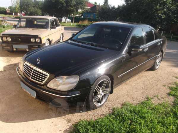 Mercedes-Benz S-Class, 2001 год, 480 000 руб.