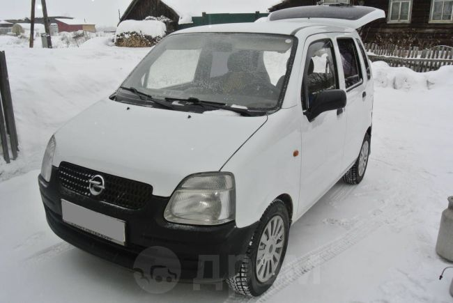 Opel Agila, 2002 год, 165 000 руб.