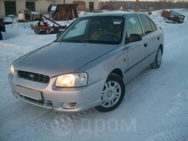 Hyundai Accent, 2001 год, 140 000 руб.