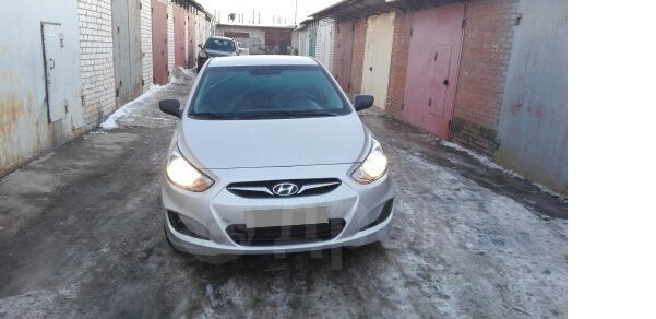 Hyundai Solaris, 2014 год, 570 000 руб.