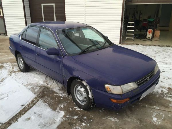 Toyota Corolla, 1991 год, 63 000 руб.