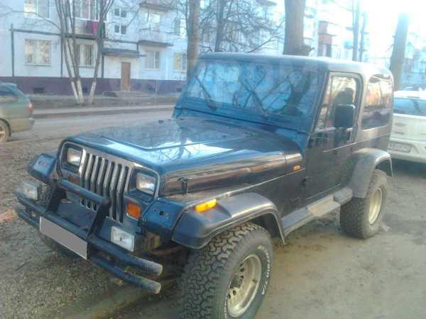 Jeep Wrangler, 1995 год, 420 000 руб.