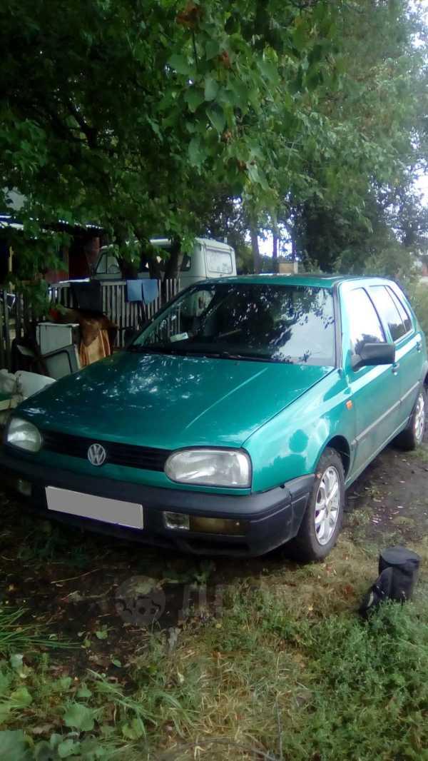 Volkswagen Golf, 1992 год, 80 000 руб.