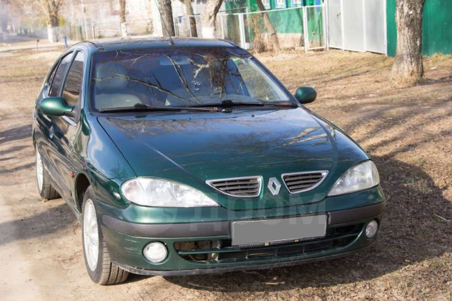 Renault Megane, 1999 год, 125 000 руб.