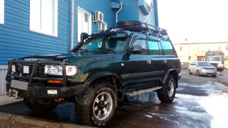 Toyota Land Cruiser, 1996 год, 710 000 руб.