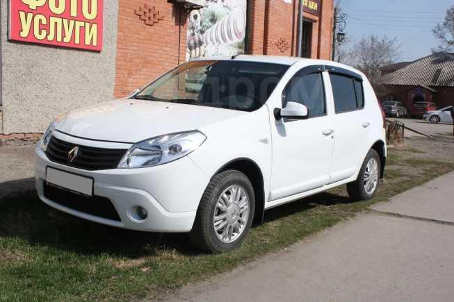 Renault Sandero, 2013 год, 410 000 руб.