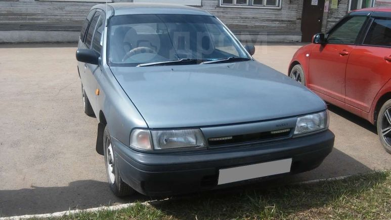 Nissan AD, 1992 год, 75 000 руб.