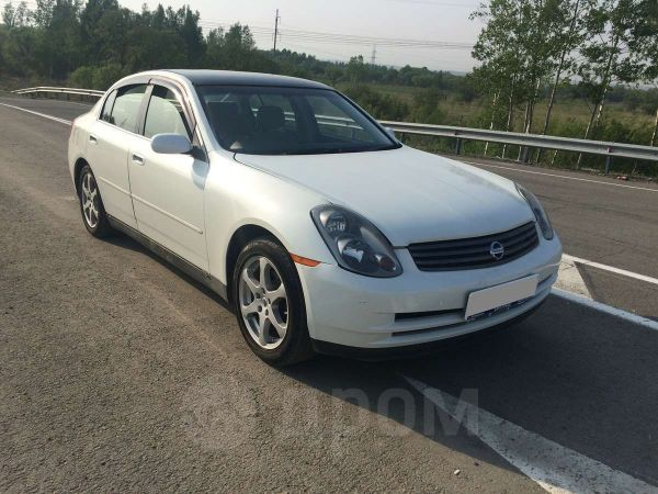 Nissan Skyline, 2003 год, 219 000 руб.