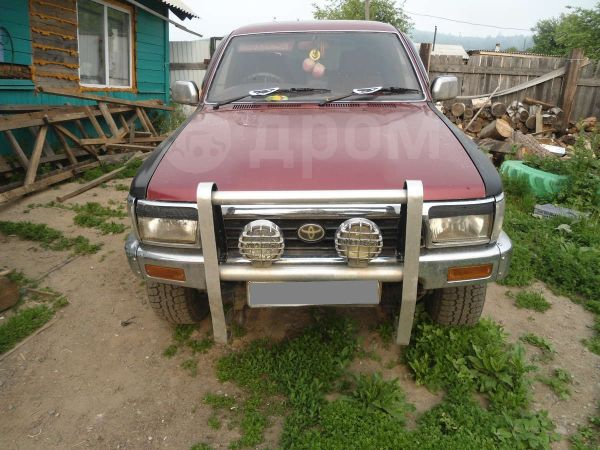 Toyota Hilux Surf, 1989 год, 220 000 руб.