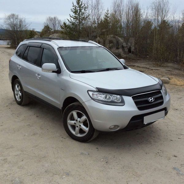 Hyundai Santa Fe, 2008 год, 625 000 руб.