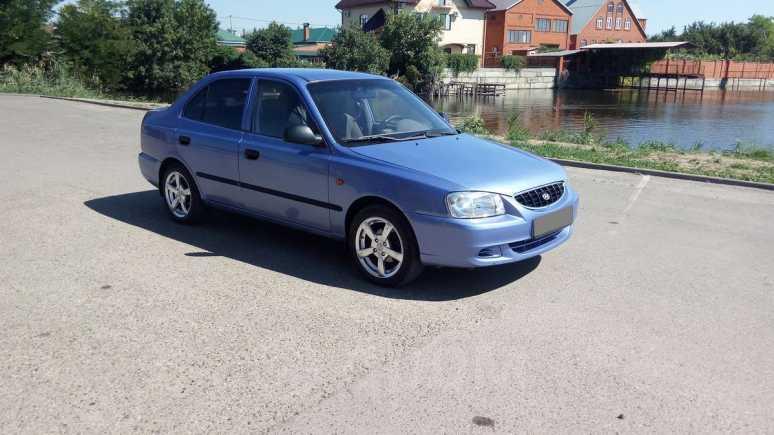 Hyundai Accent, 2006 год, 500 000 руб.