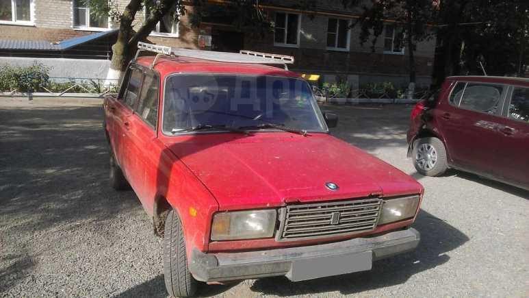 Лада 2107, 1987 год, 10 000 руб.