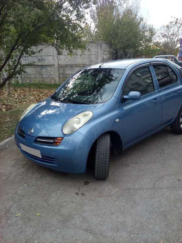 Nissan Micra, 2004 год, 320 000 руб.