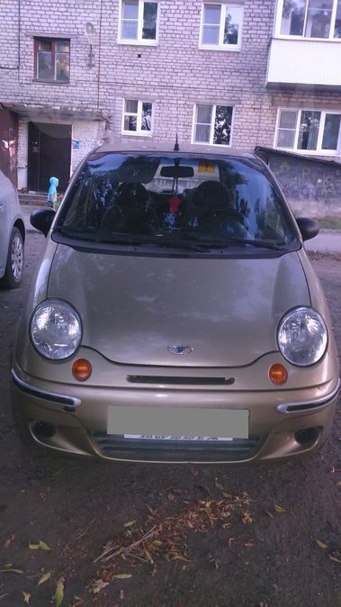 Daewoo Matiz, 2007 год, 115 000 руб.