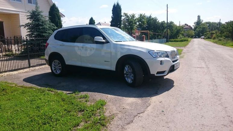 BMW X3, 2012 год, 1 550 000 руб.