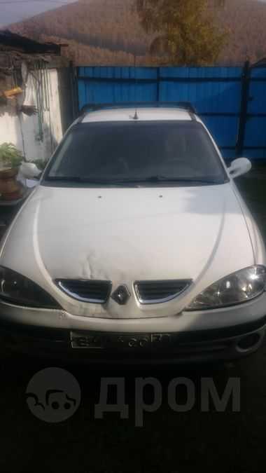Renault Megane, 2002 год, 150 000 руб.