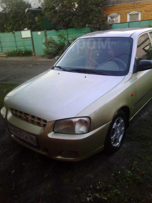 Hyundai Accent, 2001 год, 185 000 руб.