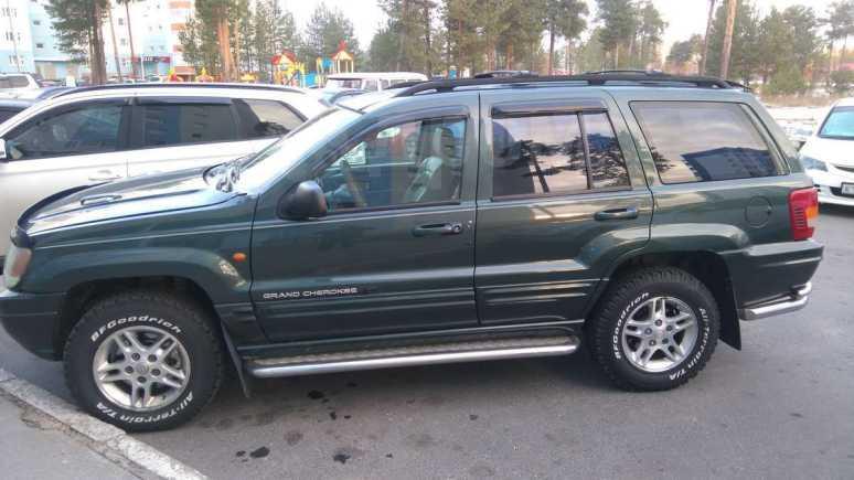 Jeep Grand Cherokee, 2000 год, 385 000 руб.