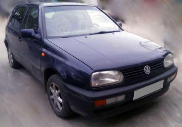 Volkswagen Golf, 1995 год, 160 000 руб.