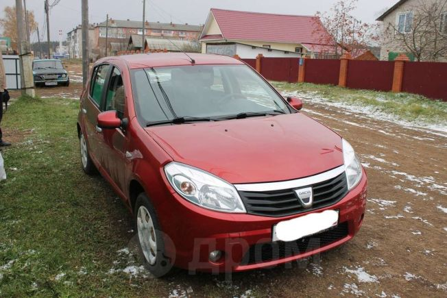 Dacia Sandero, 2009 год, 290 000 руб.