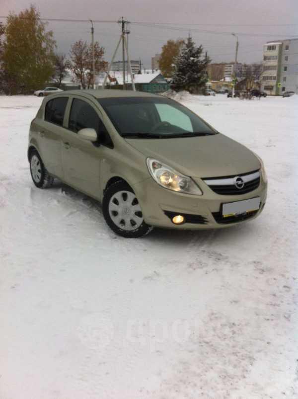Opel Corsa, 2008 год, 259 000 руб.