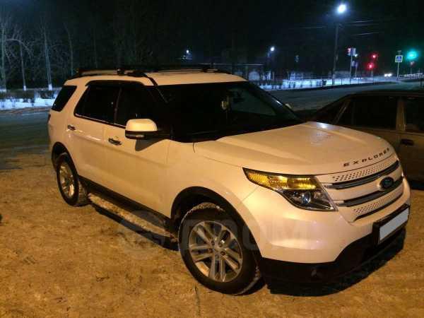 Ford Explorer, 2012 год, 1 320 000 руб.