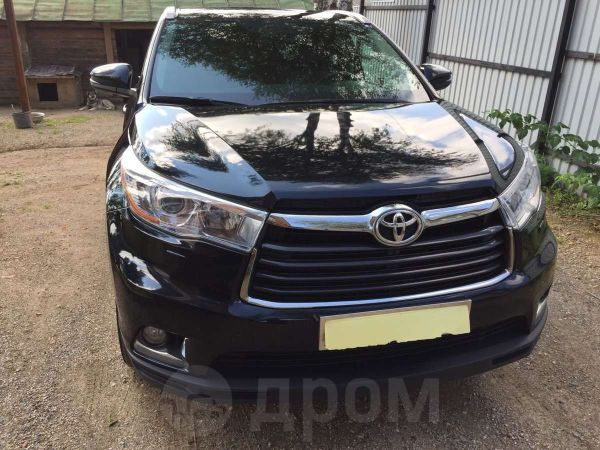 Toyota Highlander, 2014 год, 2 450 000 руб.