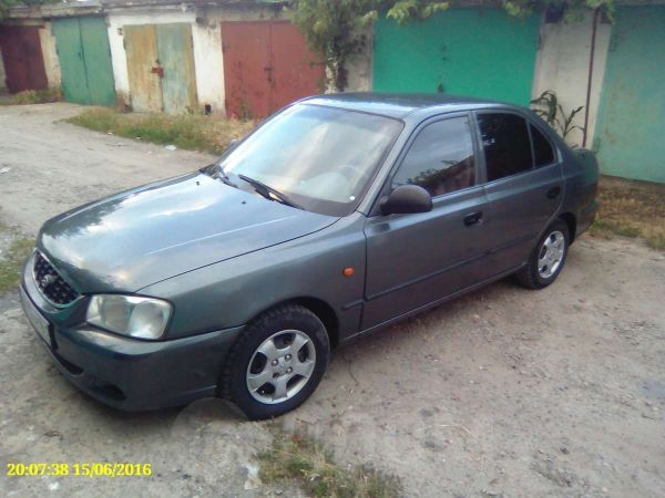 Hyundai Accent, 2005 год, 210 000 руб.