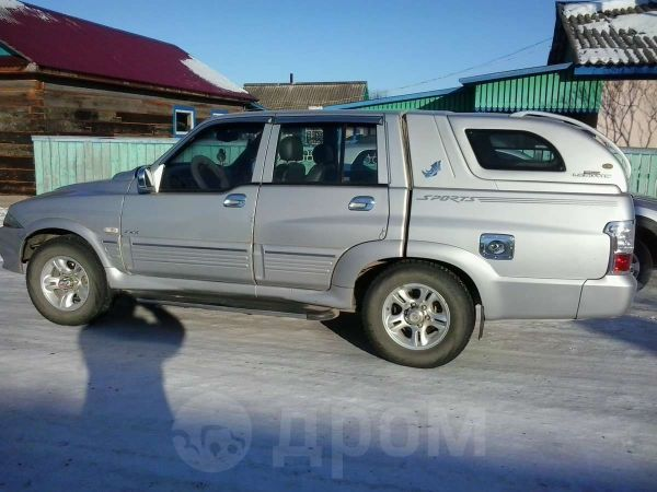 SsangYong Musso Sports, 2006 год, 520 000 руб.