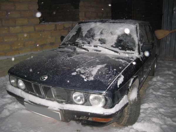 BMW 5-Series, 1986 год, 75 000 руб.