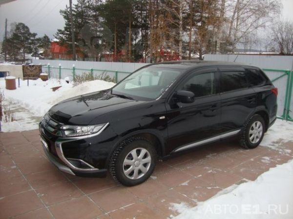 Mitsubishi Outlander, 2016 год, 1 350 000 руб.