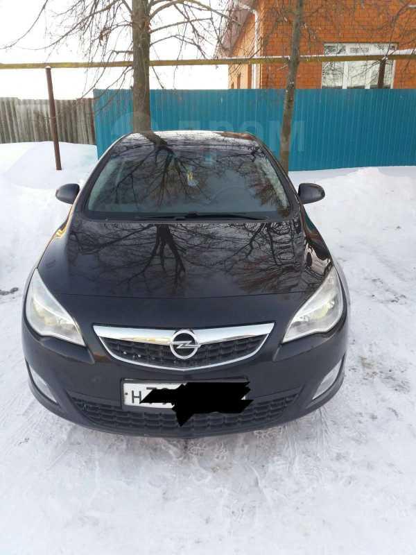 Opel Astra, 2011 год, 449 900 руб.
