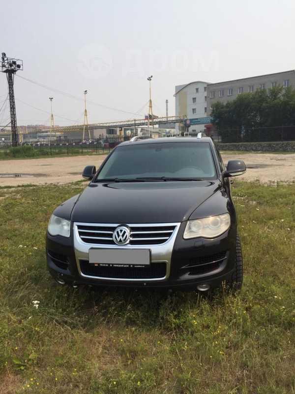 Volkswagen Touareg, 2008 год, 615 000 руб.