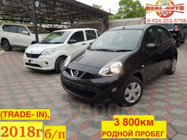 Nissan March, 2018 год, 599 999 руб.