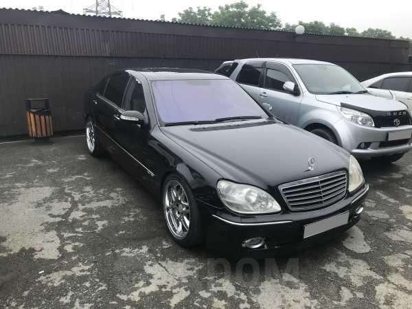 Mercedes-Benz S-Class, 2003 год, 525 000 руб.