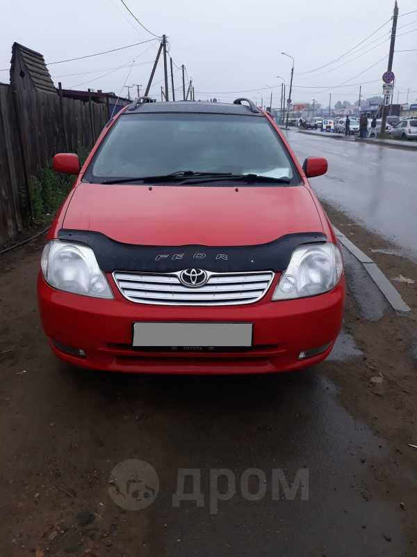 Toyota Corolla Fielder, 2001 год, 345 000 руб.