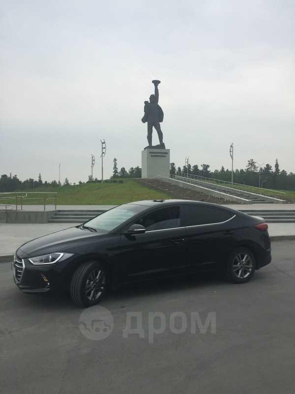 Hyundai Elantra, 2018 год, 1 224 000 руб.