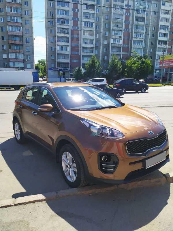 Kia Sportage, 2016 год, 1 170 000 руб.