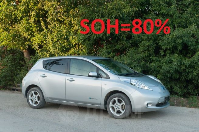 Nissan Leaf, 2012 год, 556 000 руб.