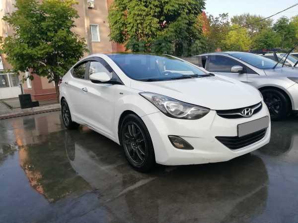 Hyundai Avante, 2012 год, 485 000 руб.