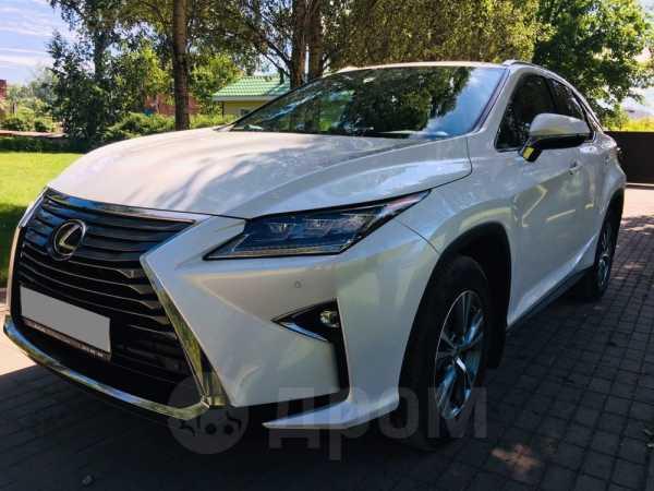 Lexus RX200t, 2017 год, 3 070 000 руб.