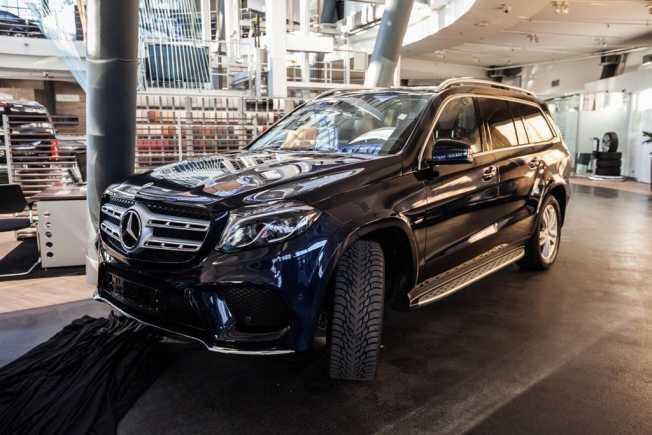 Mercedes-Benz GLS-Class, 2019 год, 5 593 634 руб.